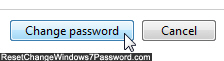 Click the Change Password button to save your new credentials