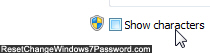 Show Windows wireless network password in plain text
